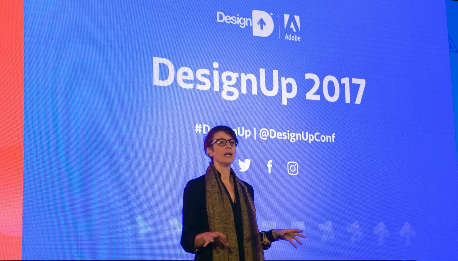 Alysha Naples, former Director of Experience at MagicLeap at DesignUp 2017