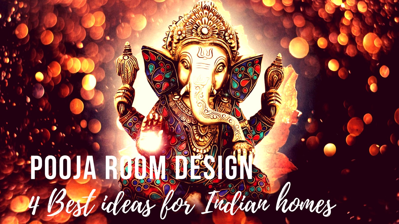 top 4 pooja unit designs for your indian home décor