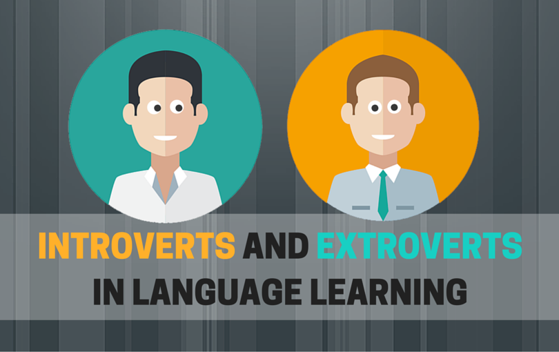 Introverts and extroverts in language learning
