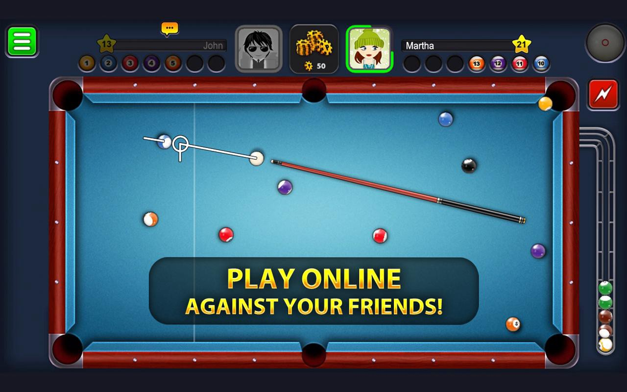 download game android 8 ball pool mod