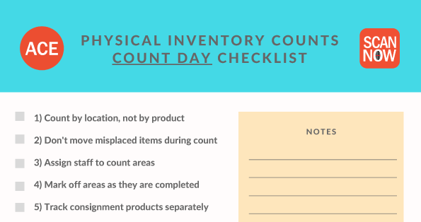 ultimate checklist for retailers physical inventory counts