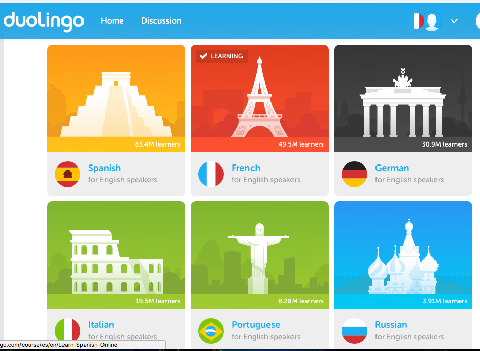DUOLINGO — LEARNING FRENCH – Kevin Wu – Medium