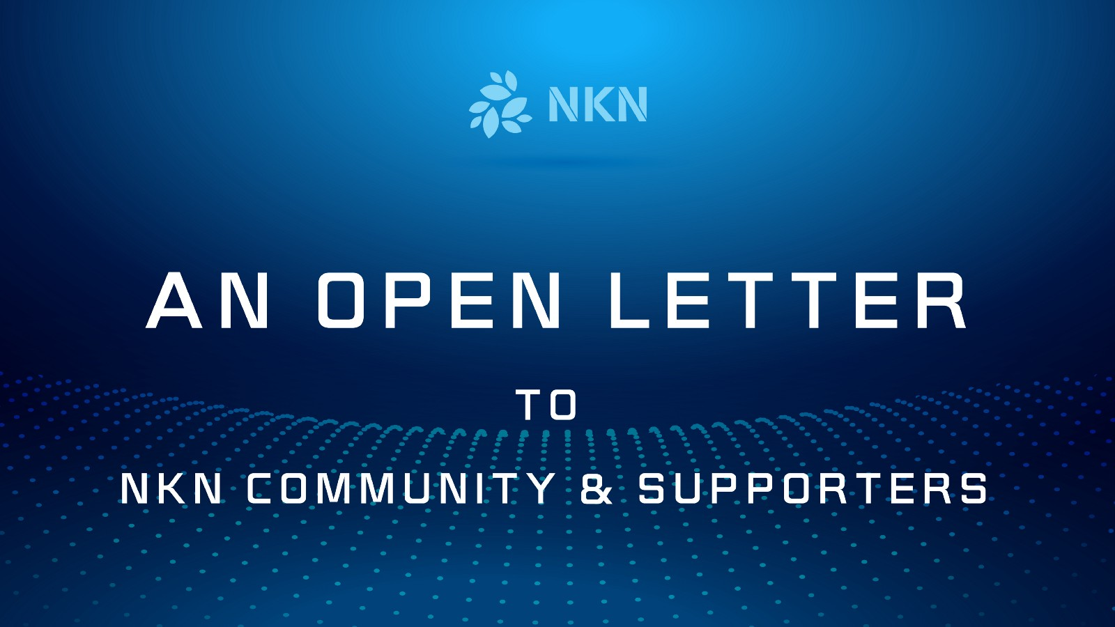 An Open Letter To NKN Community And Binance Coin Of The Month Voters