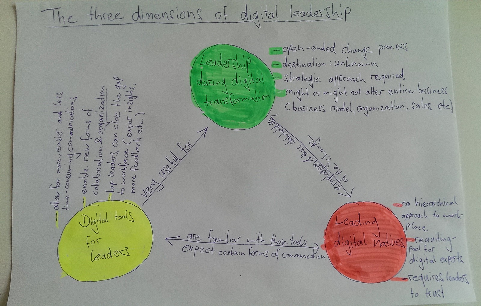 Digital Leadership: Leading successfully in the age of digital transformation