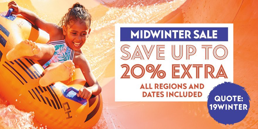 The Eurocamp Midwinter Flash Sale