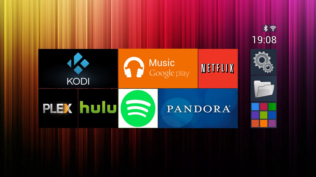 all android tv apps list