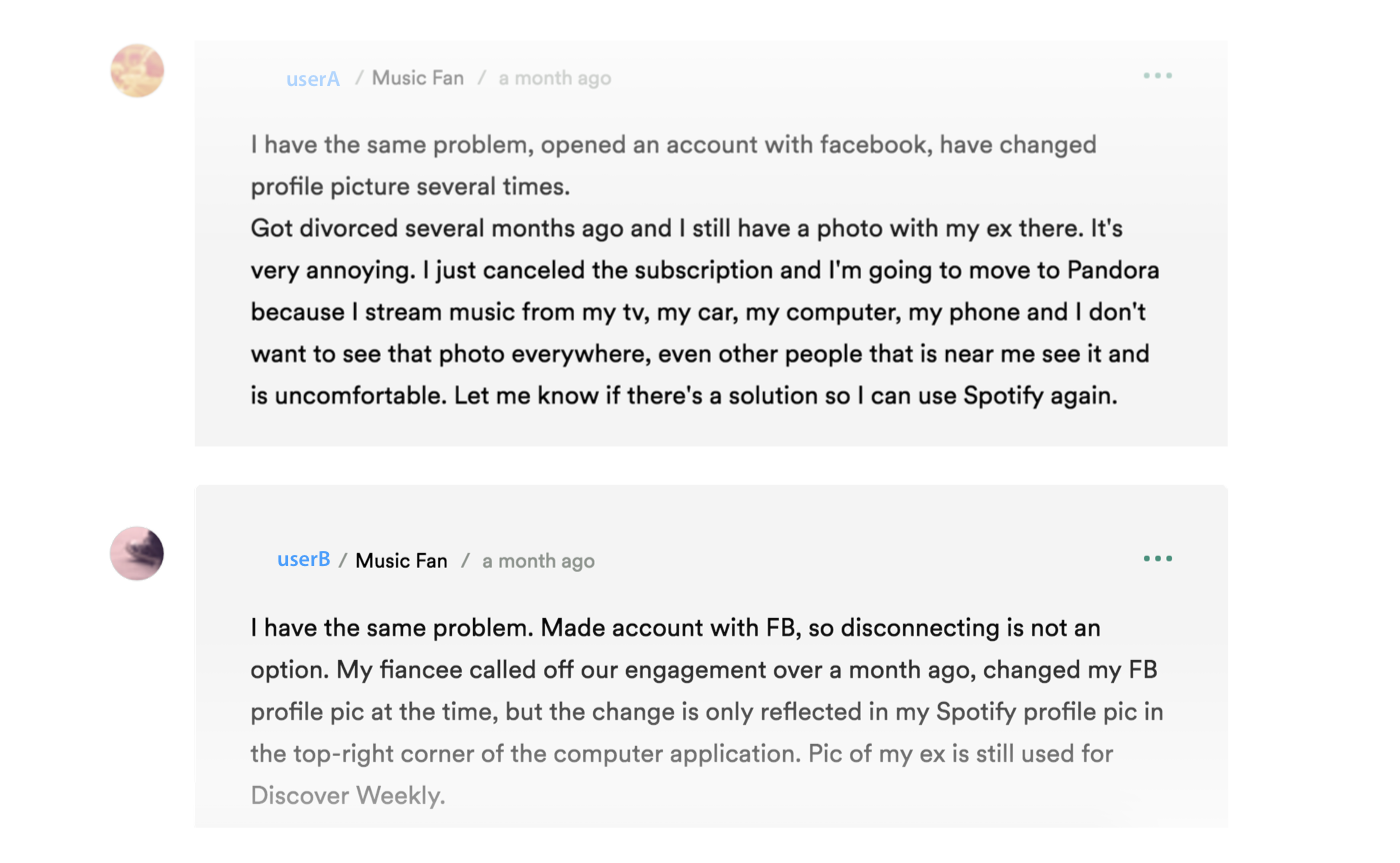 Users Who Created An Account With Spotify And Then Linked It To Facebook  Have A Workaround