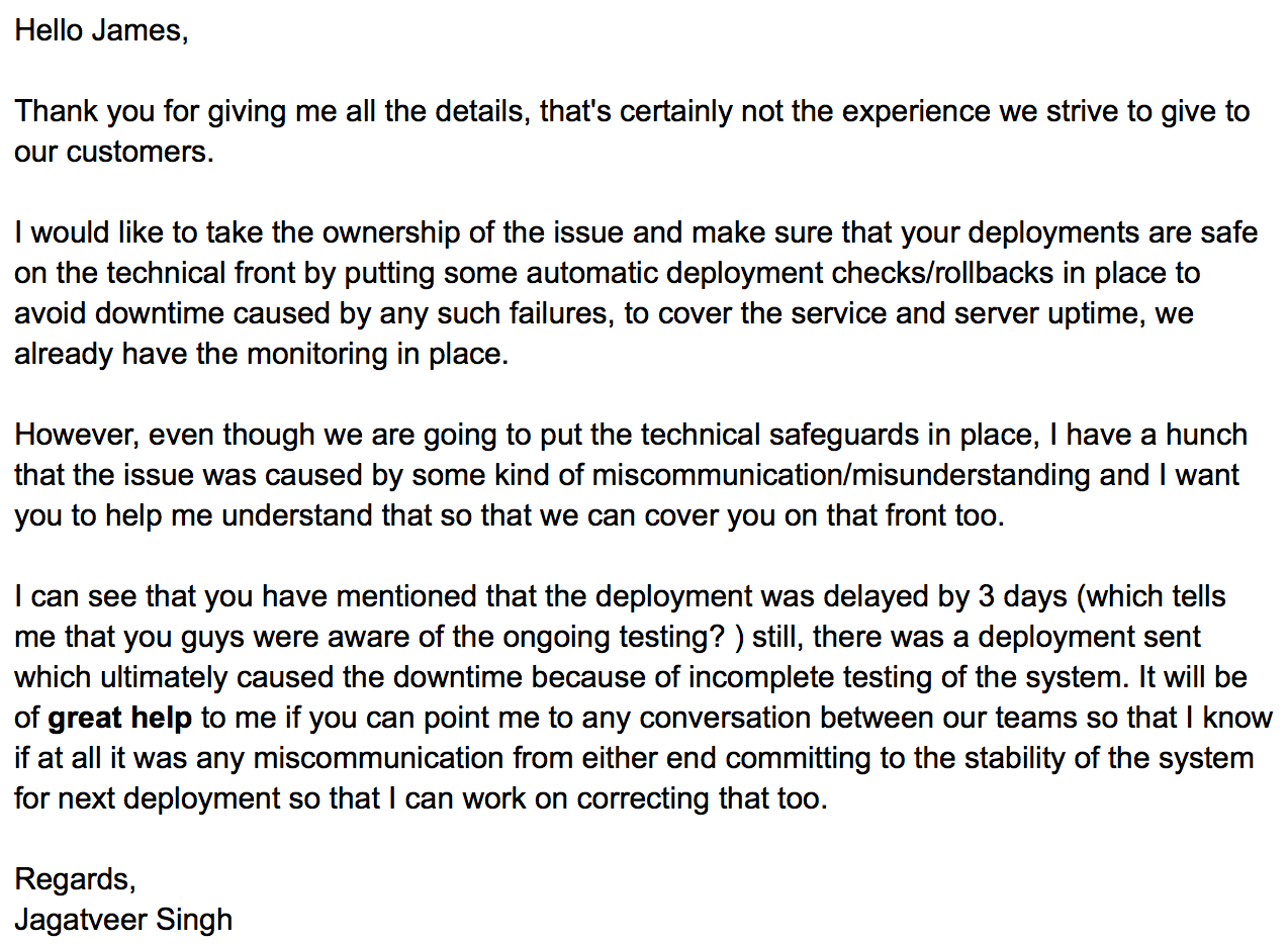 Email Reply An Opportunity Often Missed Jagatveer Singh Medium