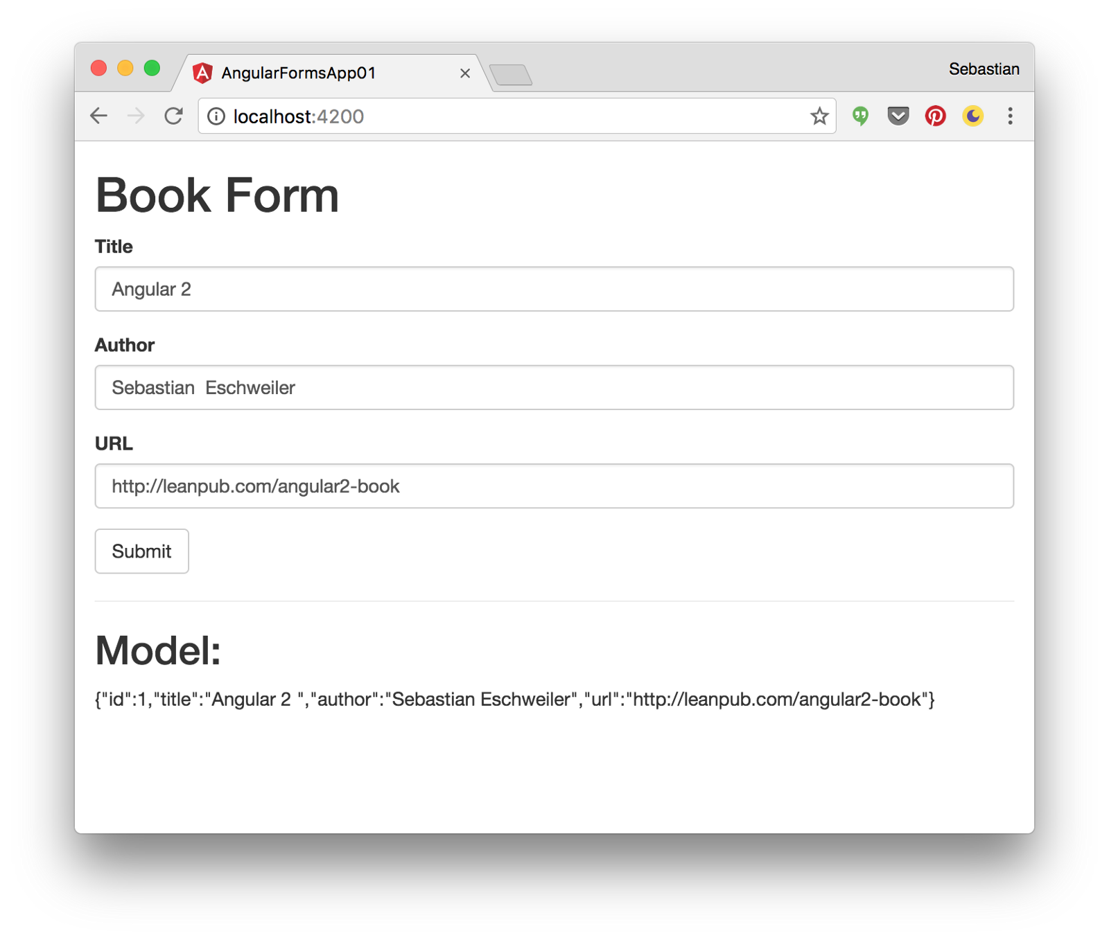 This Form Has Been Implemented By Using The Template Driven Forms Approach Of Angular 2 Means That A Components Was Used To Arrange