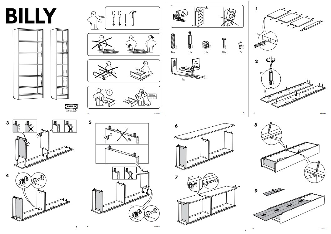 how ikea s assembly instructions champion universal design. Black Bedroom Furniture Sets. Home Design Ideas