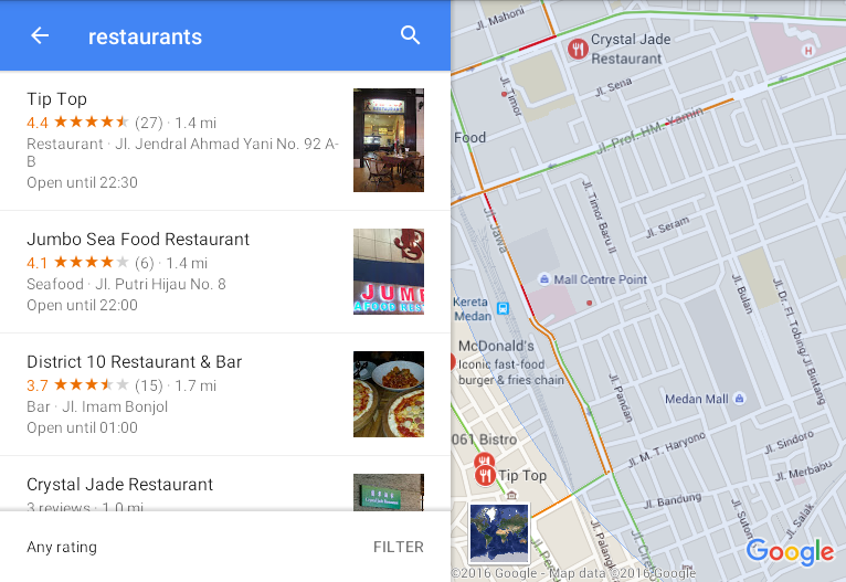 6 Tips to Use Google Maps for Beginners – Billy Halim – Medium Map Nearby Restaurants on food delivery nearby, attractions nearby, parks nearby, japanese gardens nearby, cafes nearby,