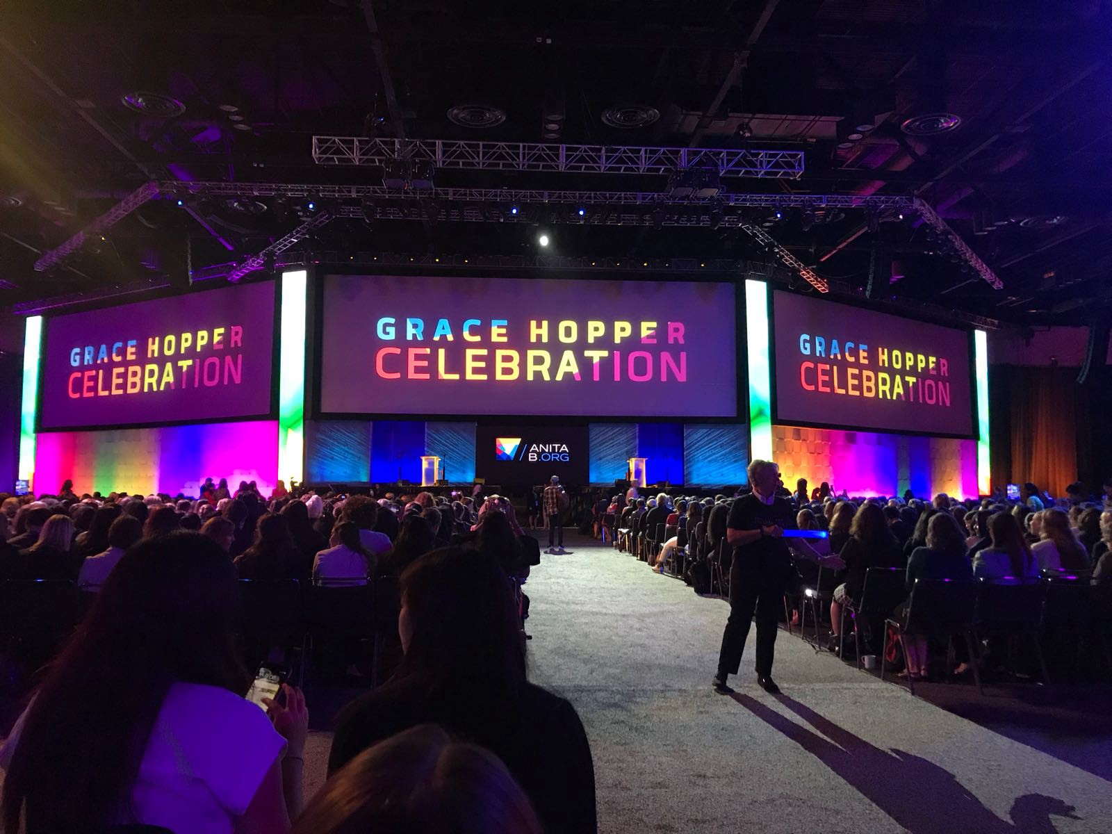 grace hopper celebration day 1 orlando fl