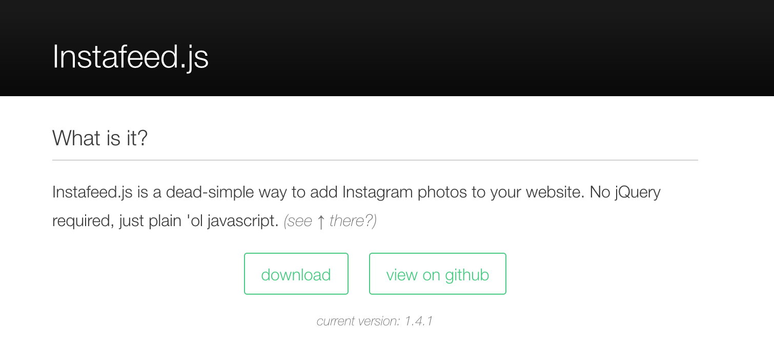 How to use your last 20 Instagram pictures on your website: