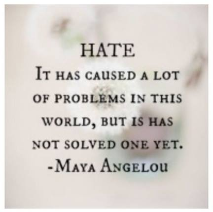 10 Picture Quotes About Hate And Haters Which Will Motivate You