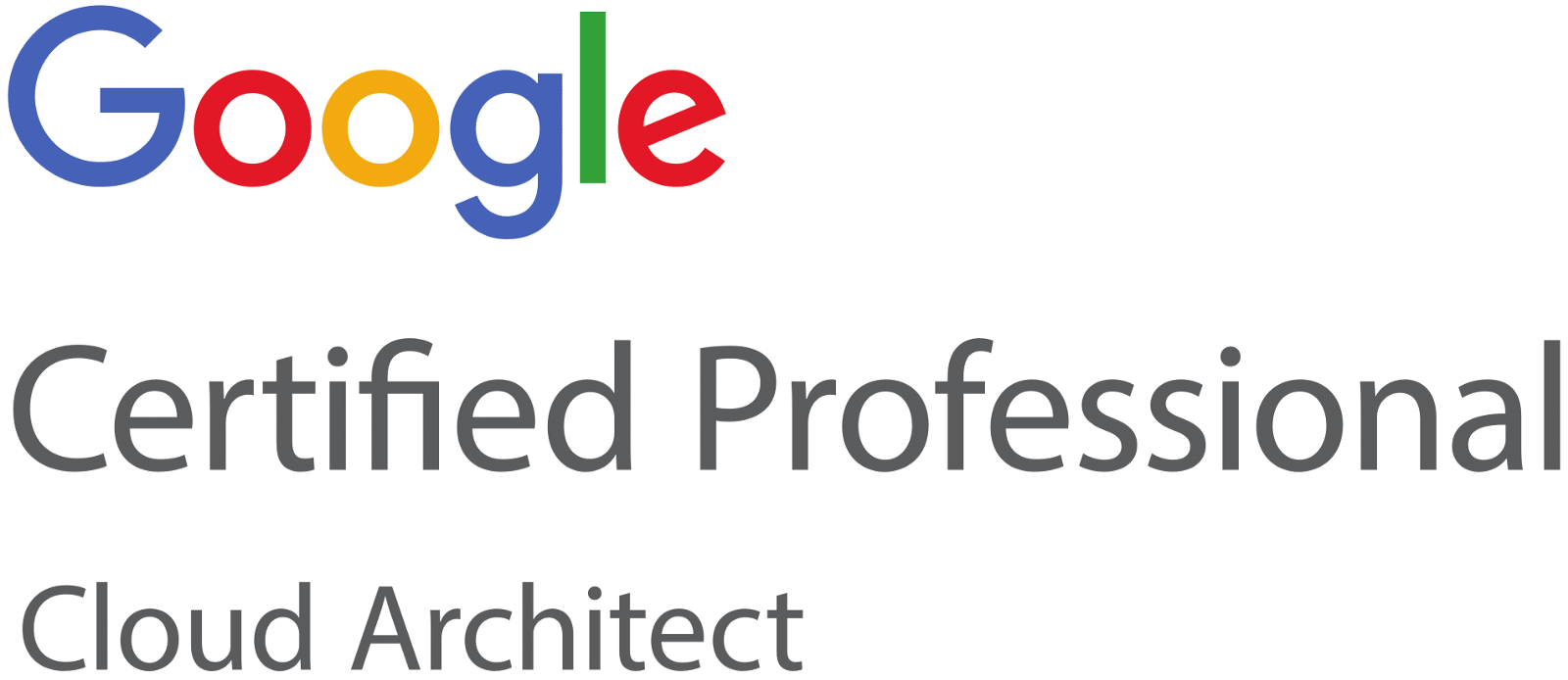 Google Certified Professional — Cloud Architect — Study Resources
