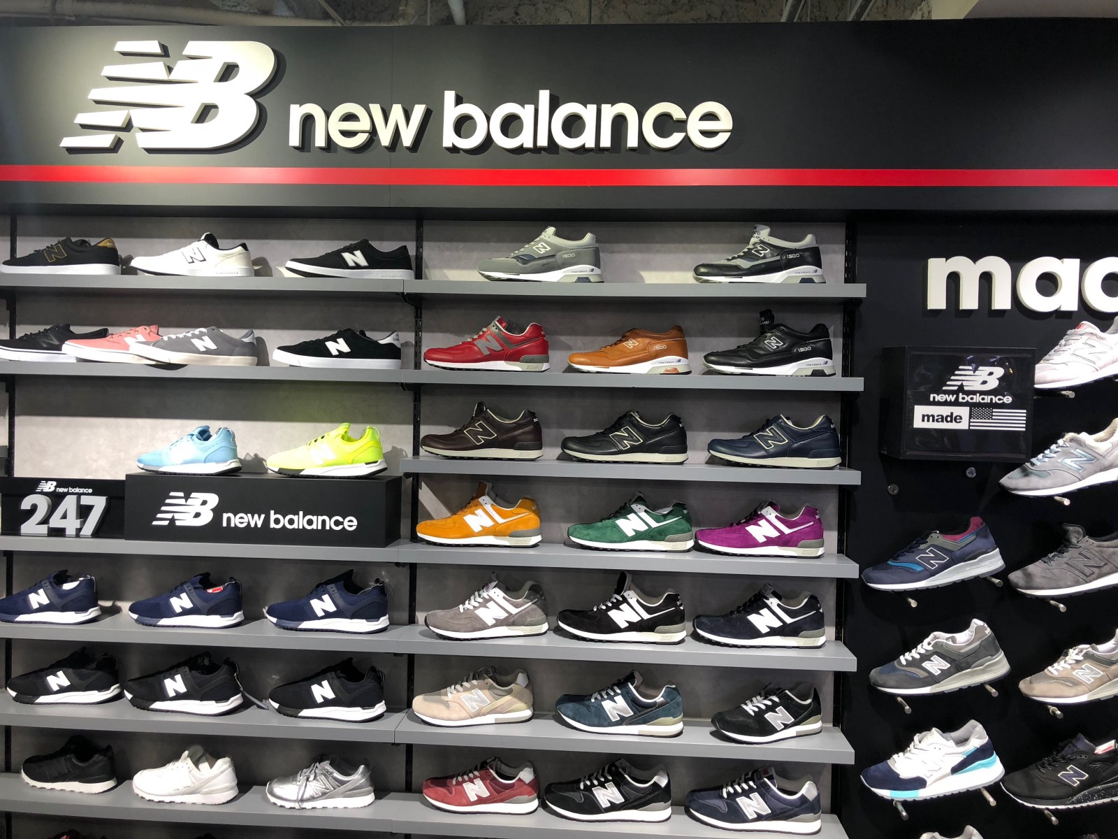2510fc4aa5a1df ABC-MART GRAND STAGE Shibuya Center-gai is one of the largest sneakers  stores providing clothing fashion items as well as a variety of brands of  sneakers.
