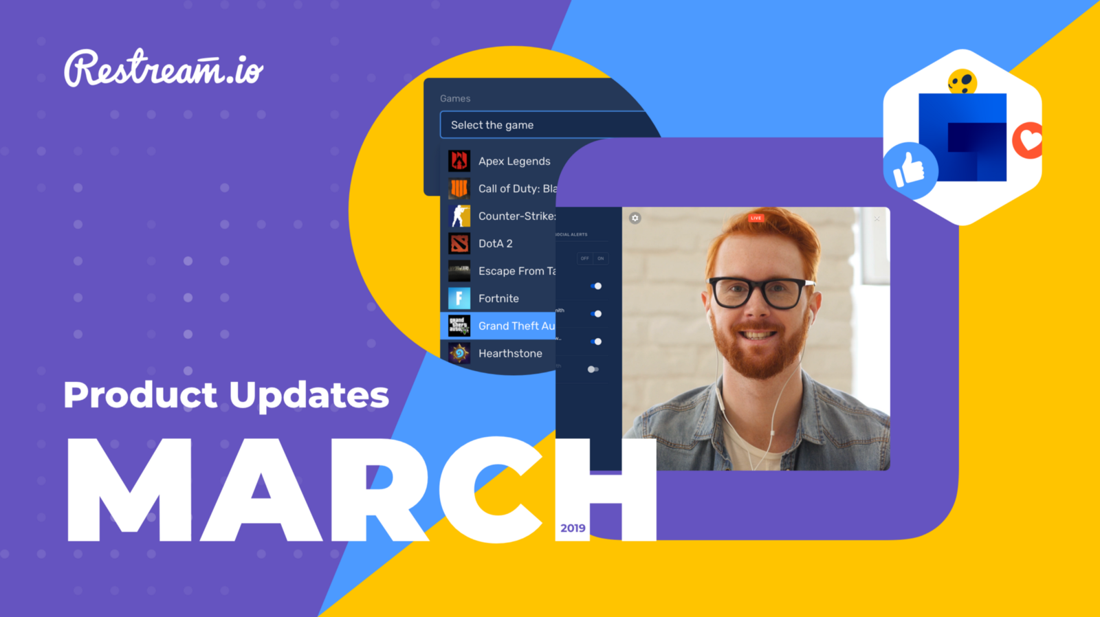 March product update – Restream