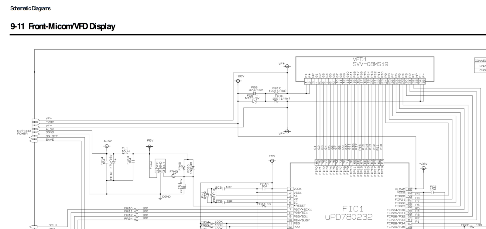 Salvaging A Samsung Dvd M101 Player R X Seger Medium P25 Wiring Diagram Other Possible Useful References Guide To Fundamental Vfd Operation Pcbheaven Reverse Engineering An Lcd Display But Then Found Page 69 Of Service