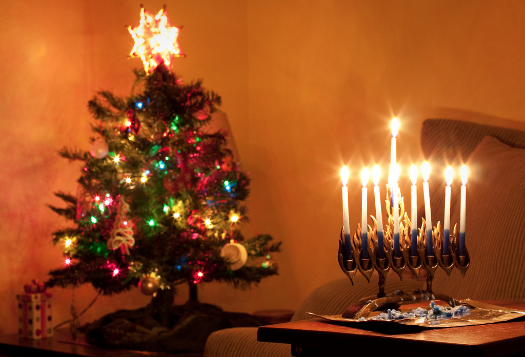 You get ALL the decorations! A Christmas tree, a menorah, a wreath… put it  all up and light it up. - The Best Things About Celebrating Chrismukkah €� Bullshit.IST