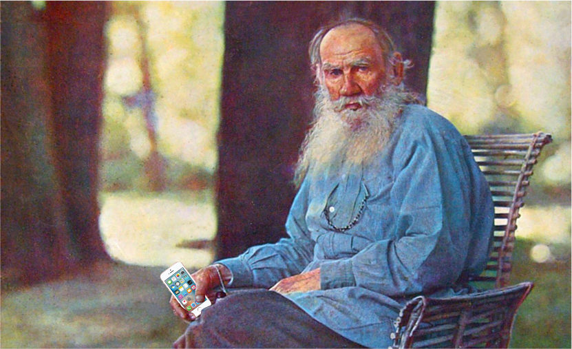 Tolstoy iphone