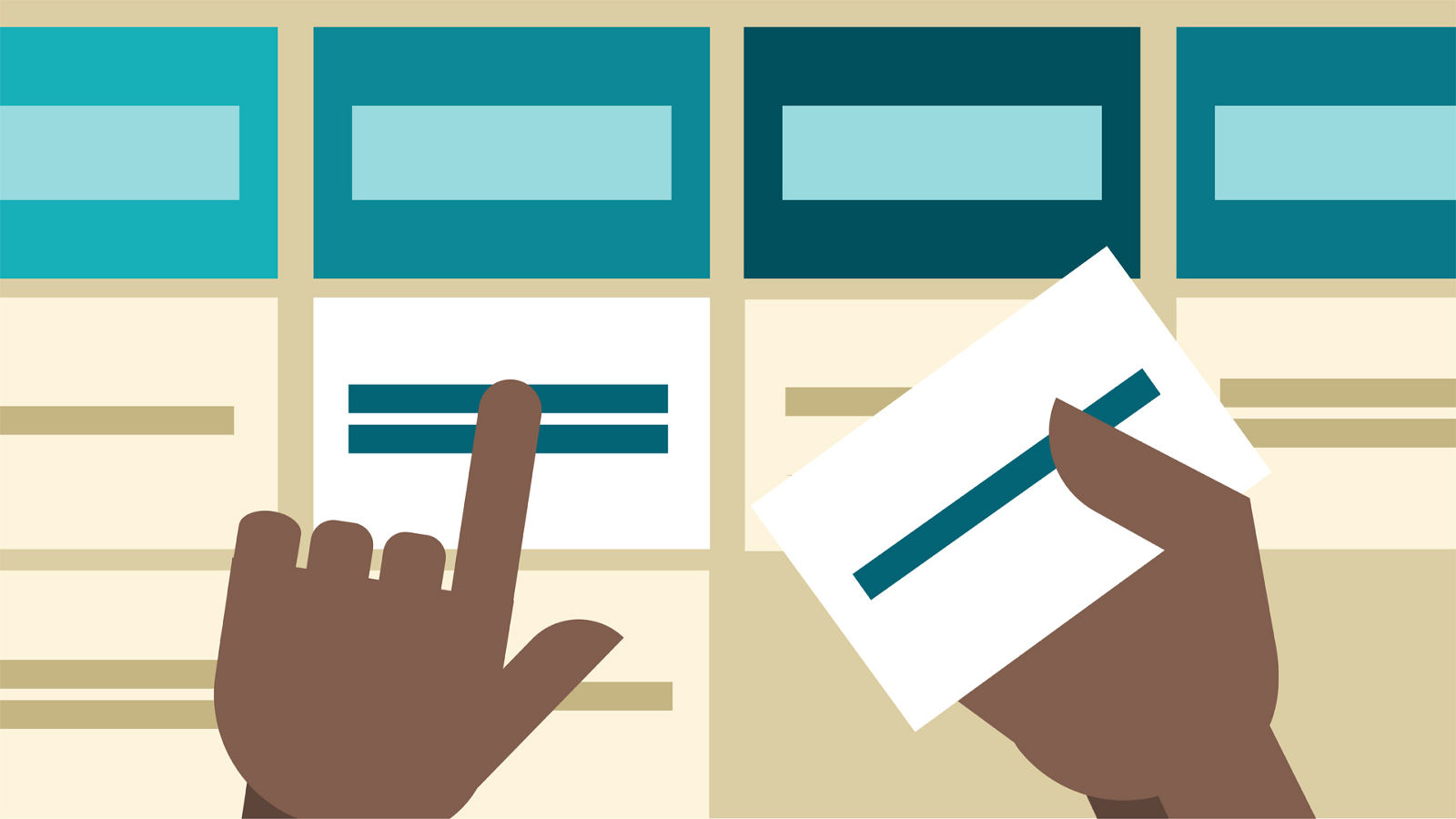 improving information architecture through card sorting