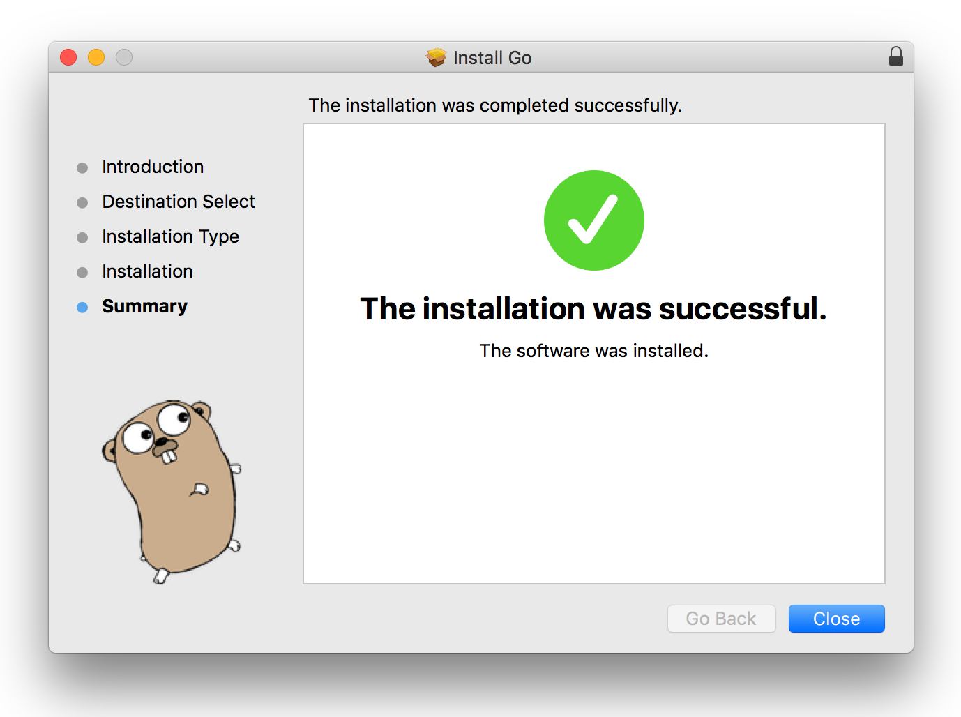 golang install from source