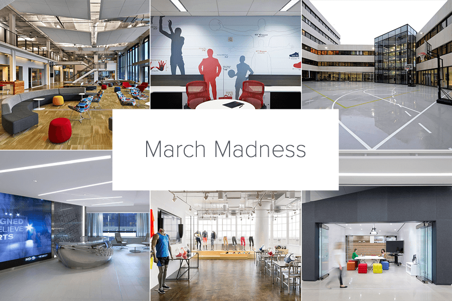 the ncaa tournament begins and productivity in offices across the us plunges as employees drop everything to support their beloved college basketball