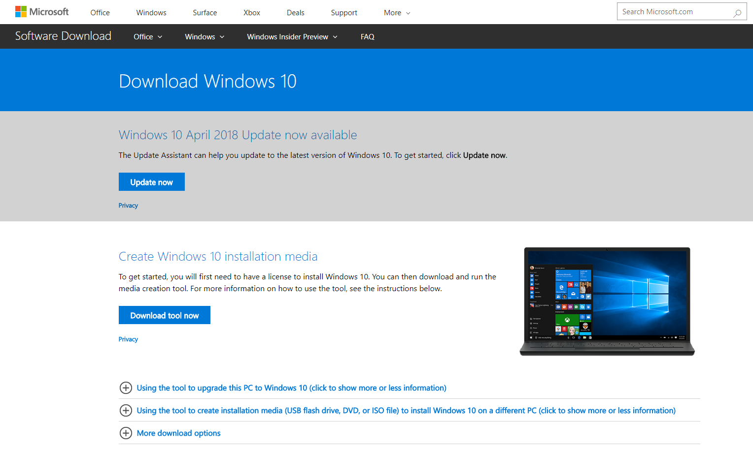 windows 10 bootable iso tool