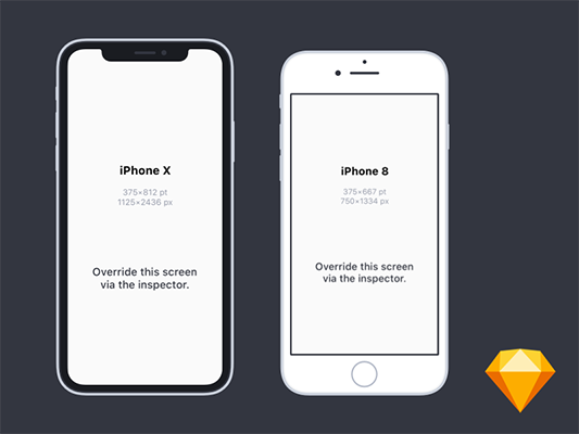 36 Free Iphone Mockups For 2019 Sketch Ux Planet
