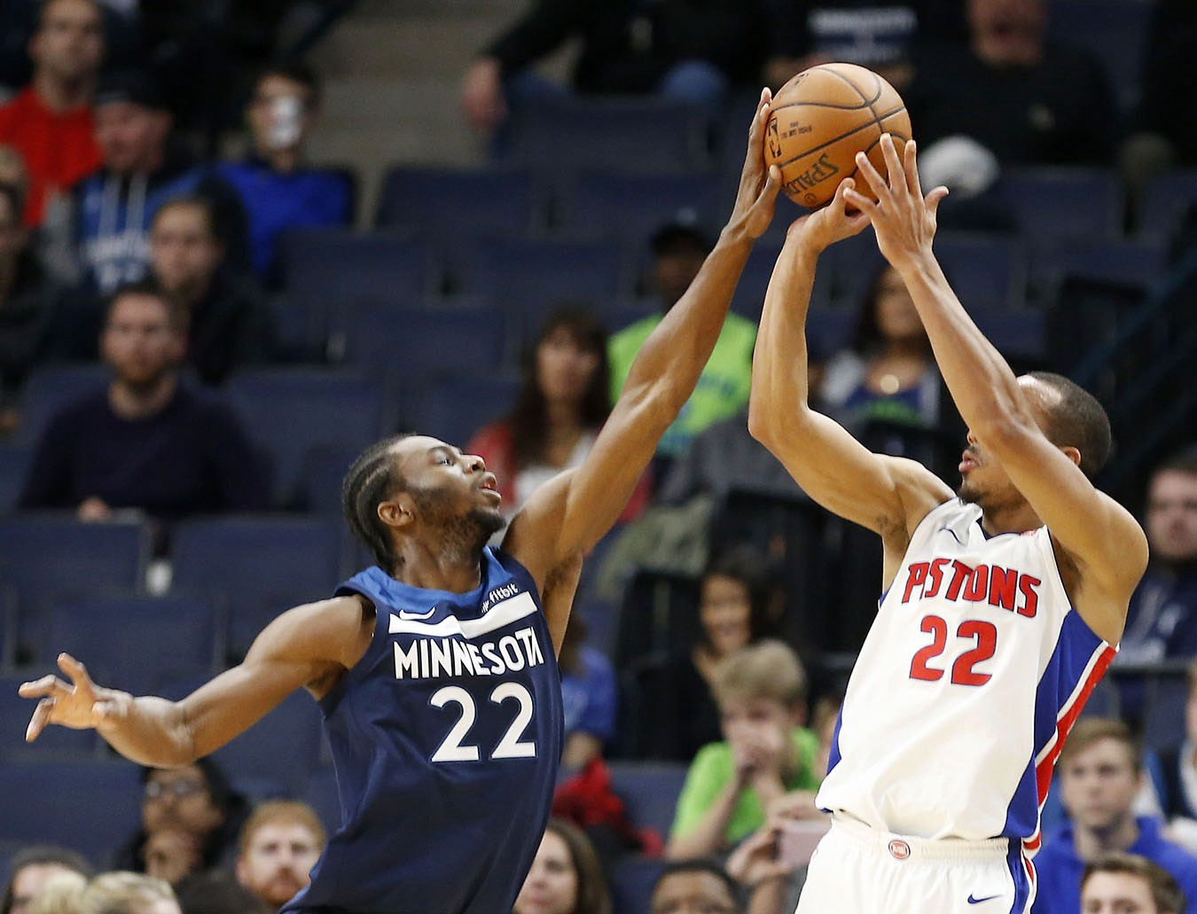 fcf88d59b45c An extremely rare photo of Andrew Wiggins making a defensive play in the  wild
