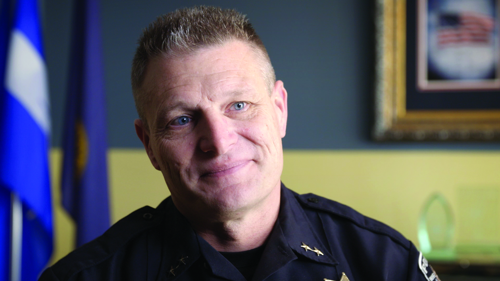 A third-generation police officer, Chief William Bones has served in the Boise Police Department for 25 years.