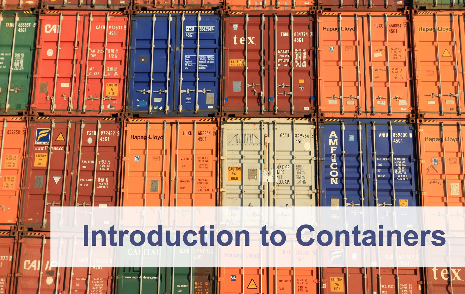 Introduction to Containers: Concept, Pros and Cons, Orchestration, Docker, and Other Alternatives