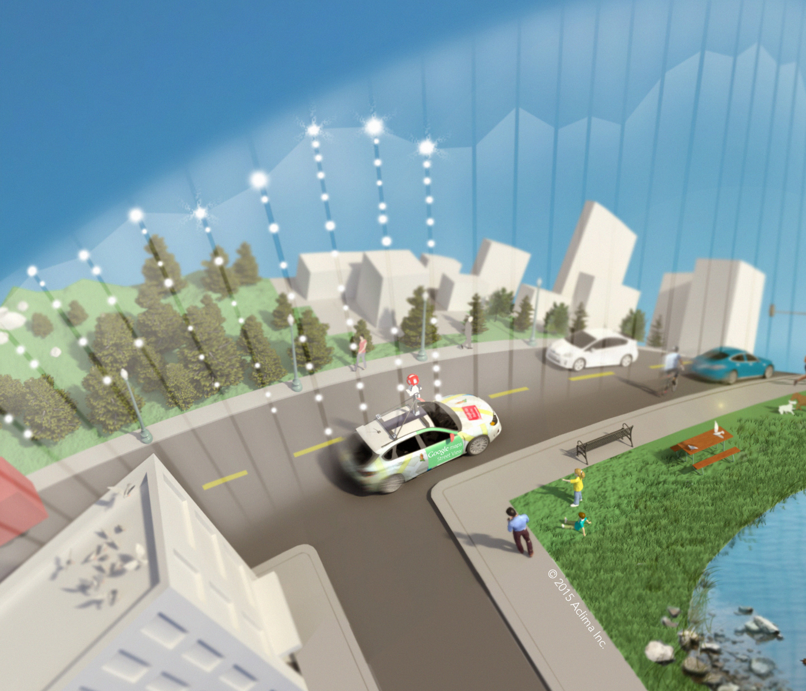 Aclima and Google Maps Make CGI Commitment to Map Air Pollution in ...
