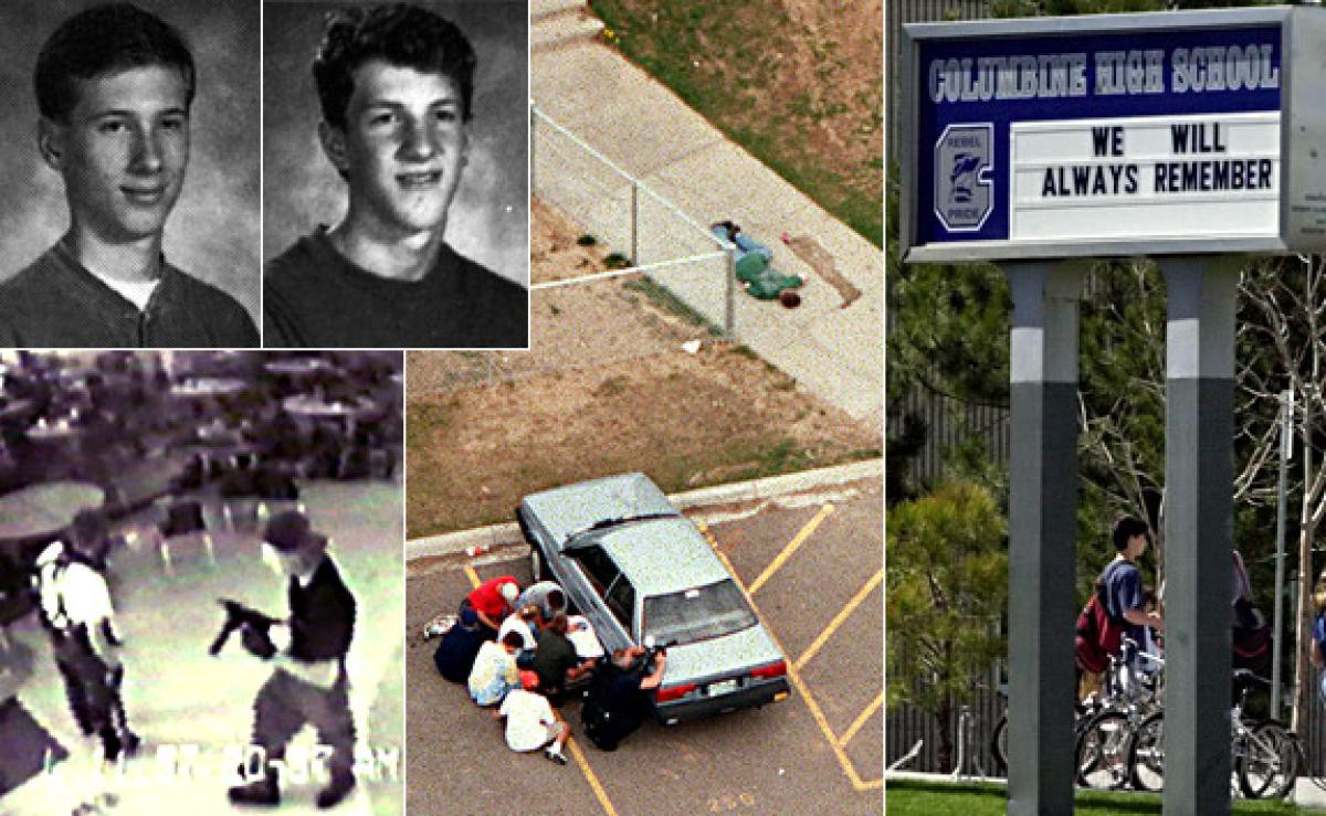 a history of the columbine high school shooting in the united states The columbine high school massacre was a school shooting that occurred on april 20, 1999, at columbine high school in columbine,[3][4] an unincorporated area of jefferson county in the american state of colorado.
