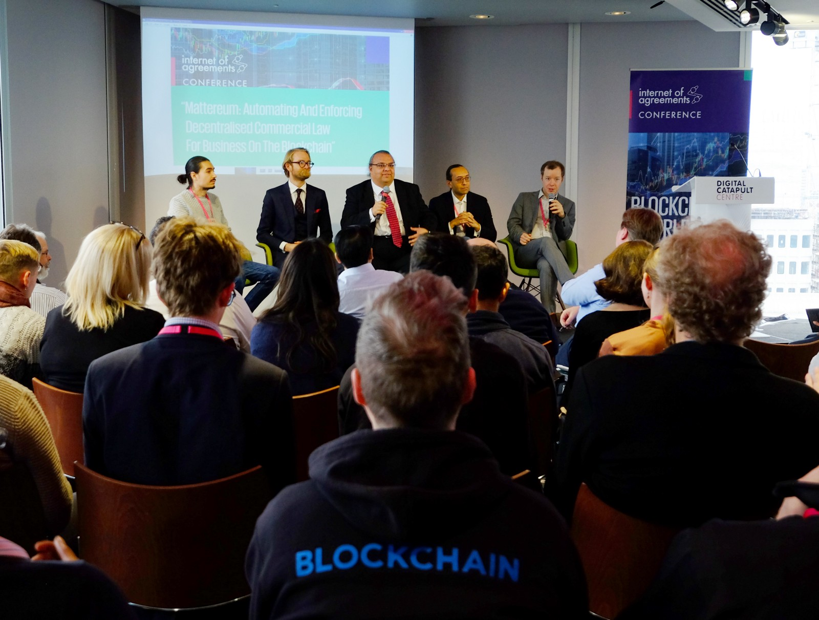 Mattereum Panel At The Internet Of Agreements Conference