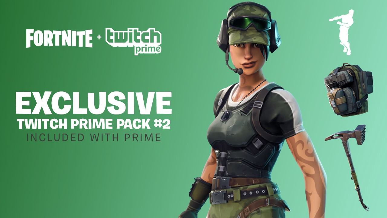 Free Fortnite Skin And Items From Twitch / Amazon Prime Announced