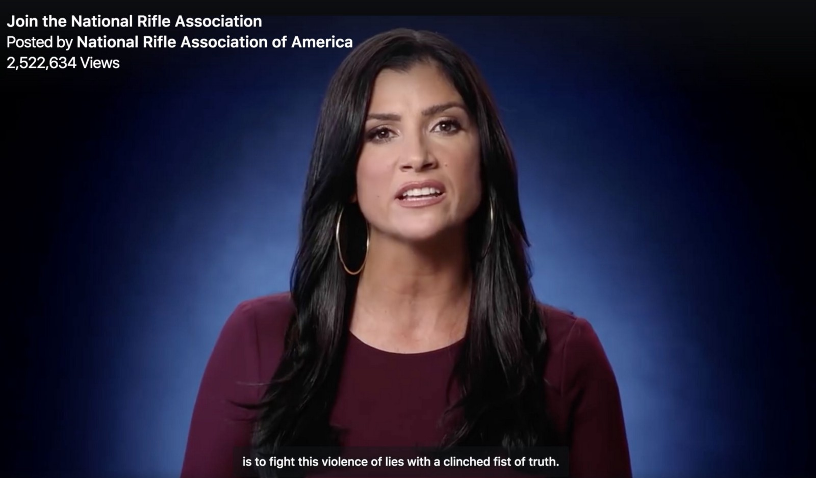 NRA's Dana Loesch Defends Ad Targeting Media, Hollywood's 'Violence of Lies'