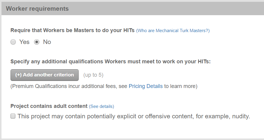 tutorial understanding requirements and qualificationsmasters workers have consistently demonstrated a high degree of success in performing a wide range of hits across