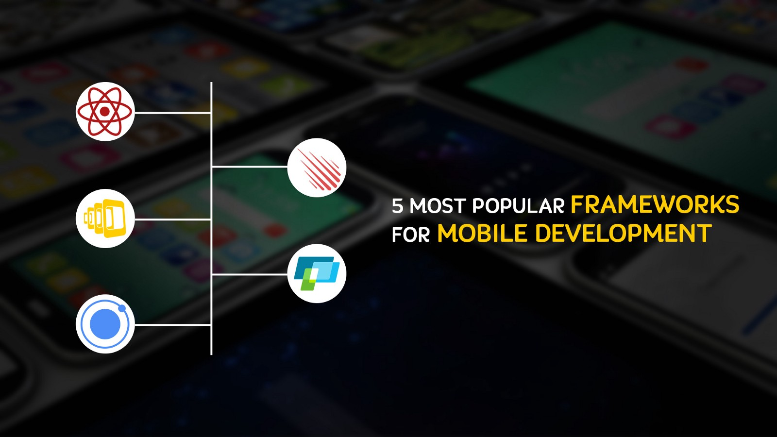 5 Most Popular Frameworks for Mobile Development