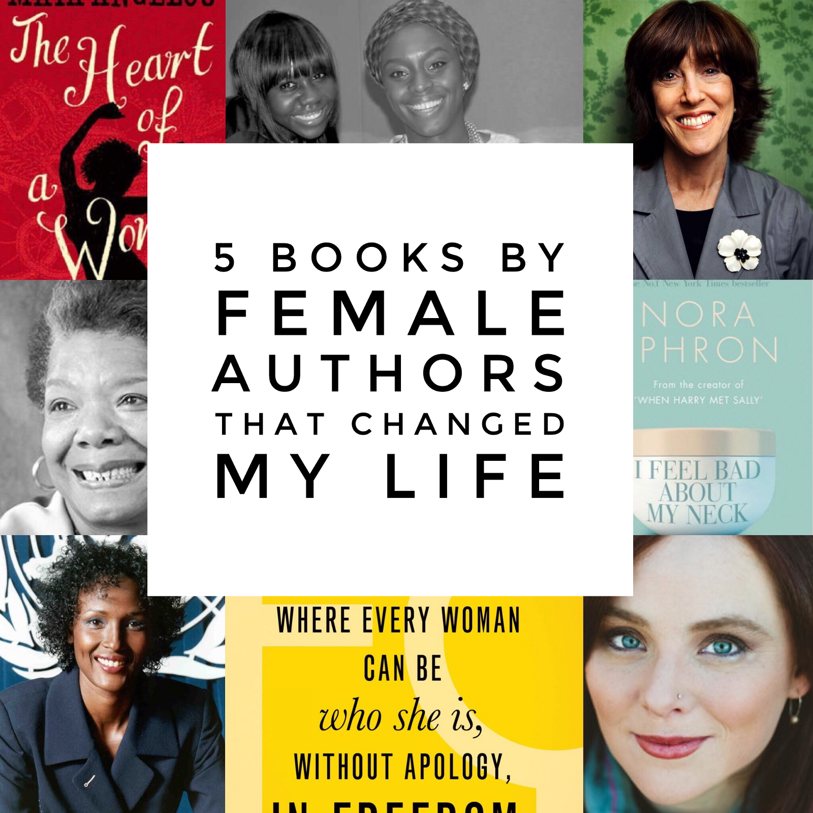 5 Books By Female Authors That Changed My Life – Blessing Omakwu