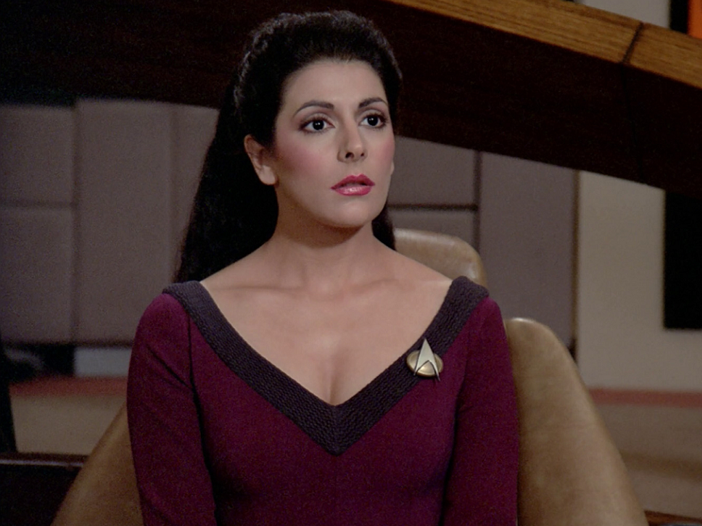 Hots Nude Star Trek Counselor Troy Pics