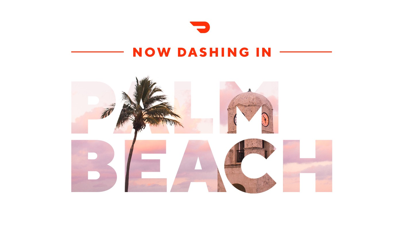 Starting Today Customers Can Order From Their Favorite Restaurants On Doordash Between 11 A M 10 P In Palm Beach Gardens West