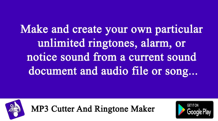 Ringtone cutter application | Mp3 Cutter App  2019-04-12