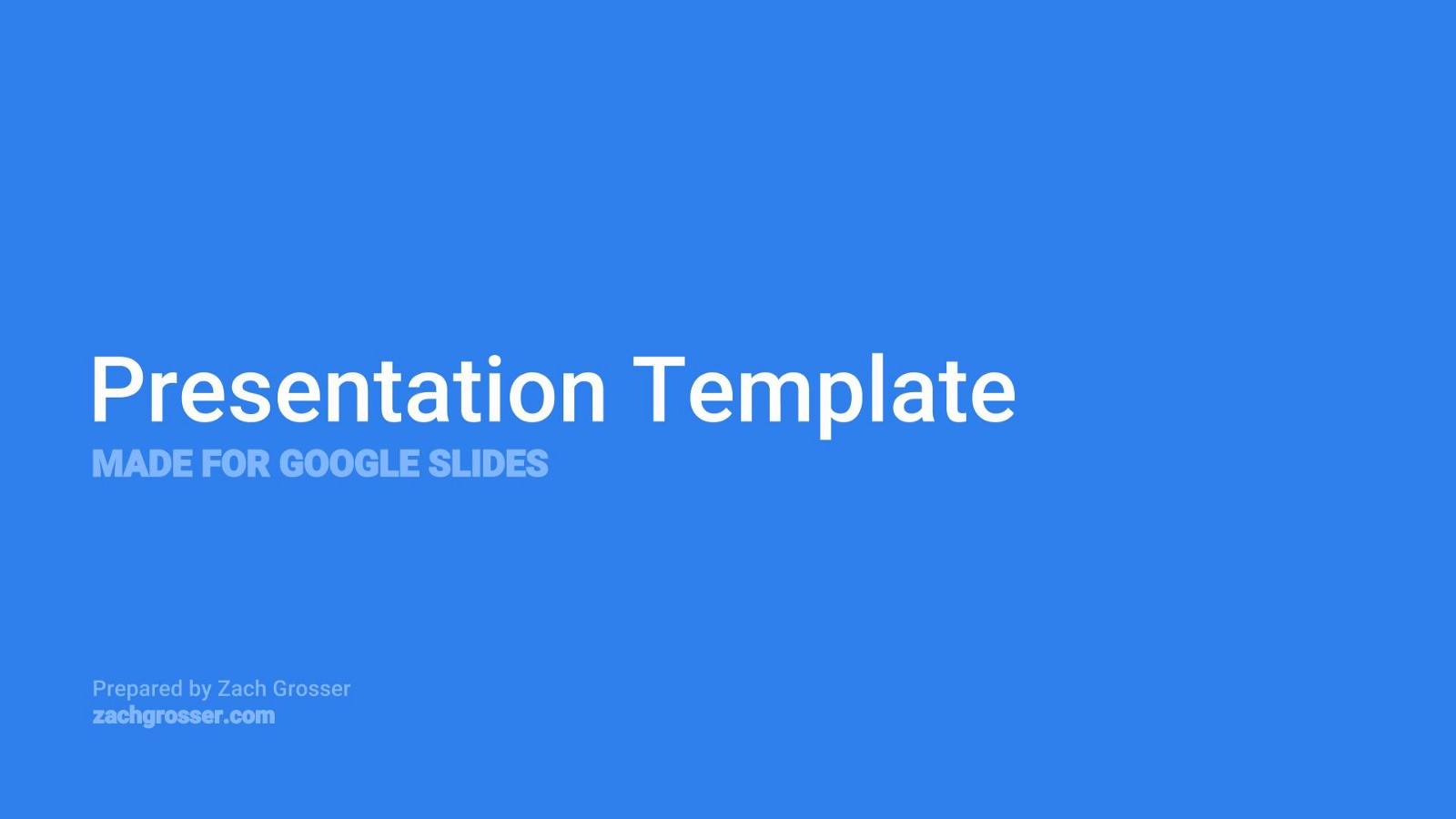 View And Create Your Own Copy Of This Template With Google Slides