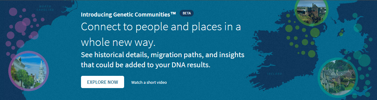 Genetic Discovery Provides New Insight >> New Ancestor Discovery Using Ancestry S Genetic Communities