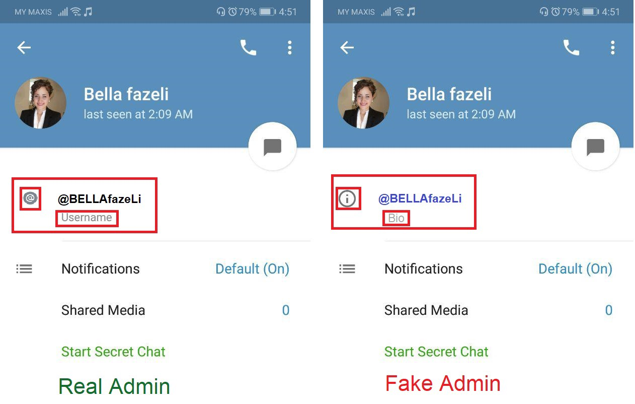 How To Avoid Fake Admins Or Scammers Dobi Exchange Medium