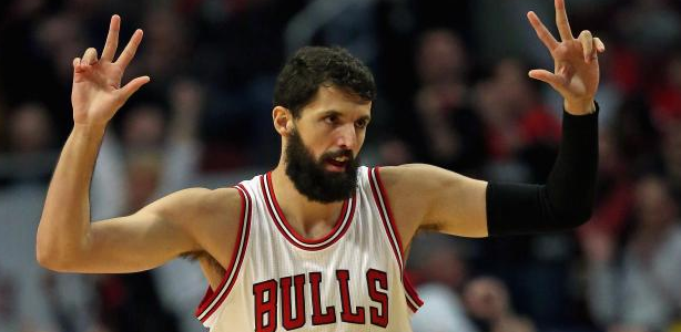 499efe6a57a6 Nikola Mirotic s beard is darker than the darkest corner of the deepest  cave. If you can t tell the difference between Mirotic and Andrew Luck