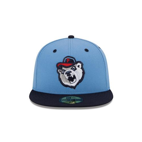 I love the Pawtucket Red Sox home cap because it features what I m fairly  certain is a drunken Masshole bear heckling you. a0b3f0a4f50