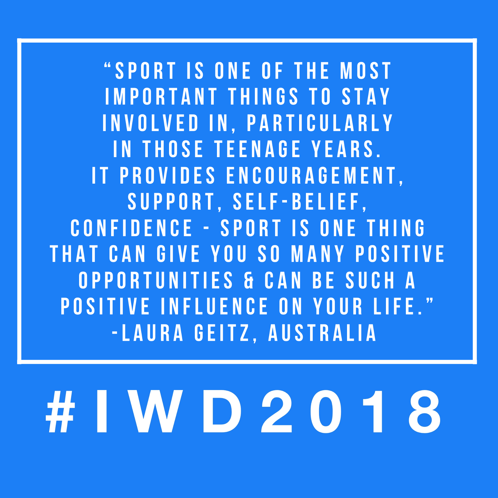 Top Netball Quotes for #IWD2018 - SISTERS n SPORT