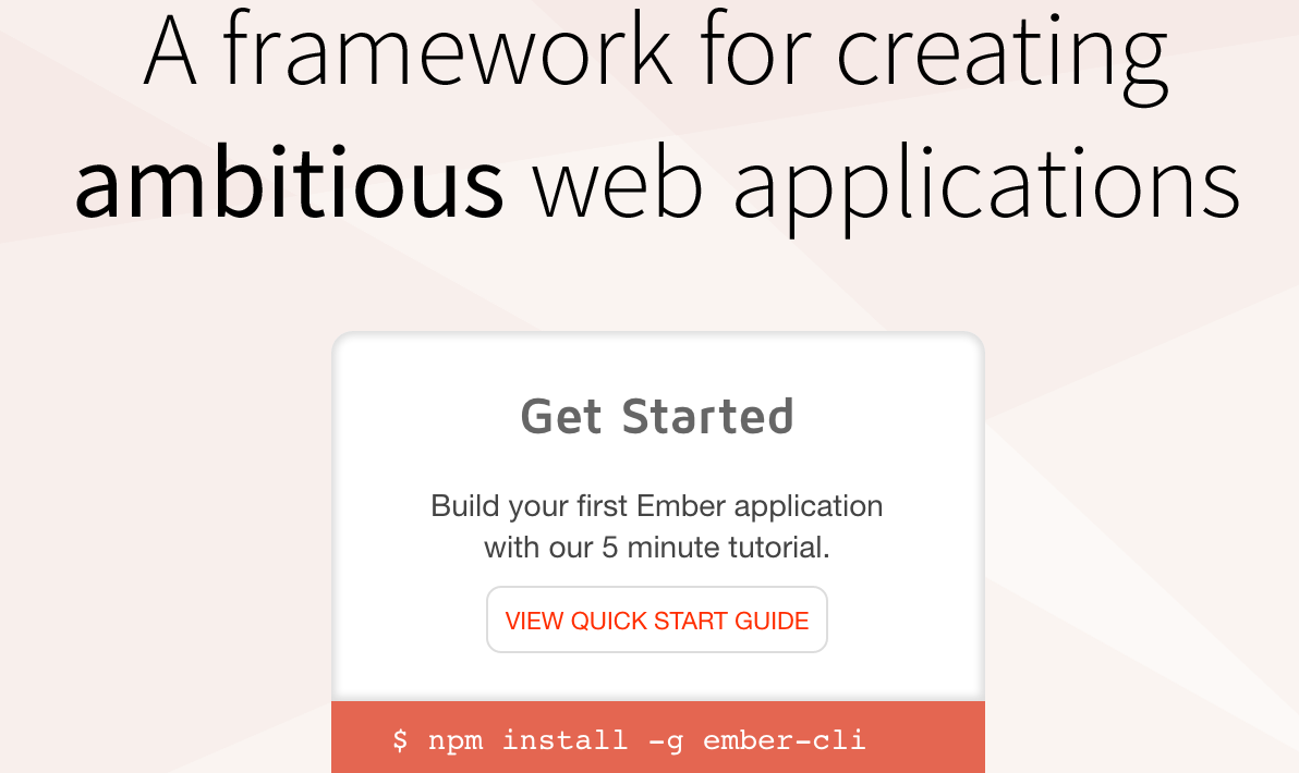 how to set up a basic ember.js app – freecodecamp